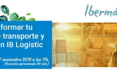 [Vídeo] Cómo transformar tu empresa de transporte y logística con IB Logistic