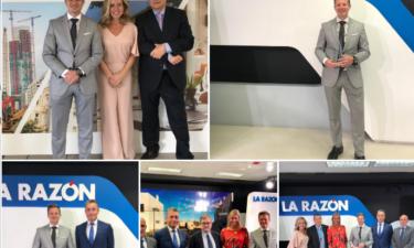 El Diario LA RAZÓN nos premia por LA MEJOR PLATAFORMA DE CONSTRUCCIÓN 4.0 (IB Building)
