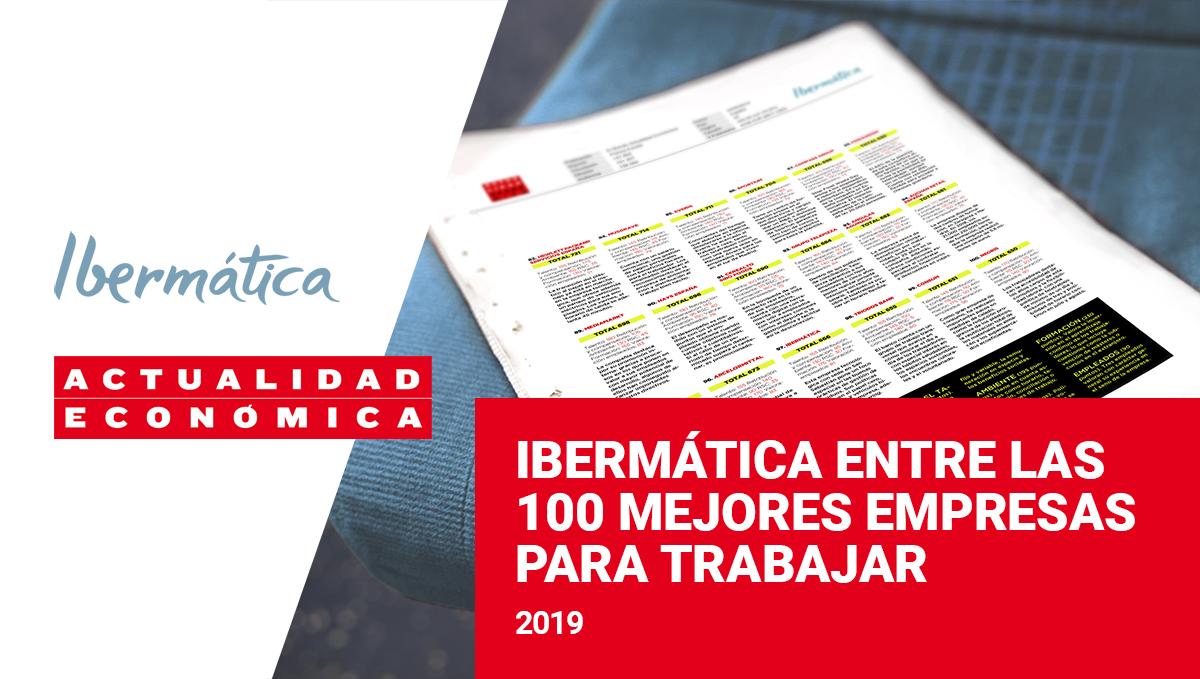 Imagen de la noticia Ibermática repite entre las cien mejores empresas para ...