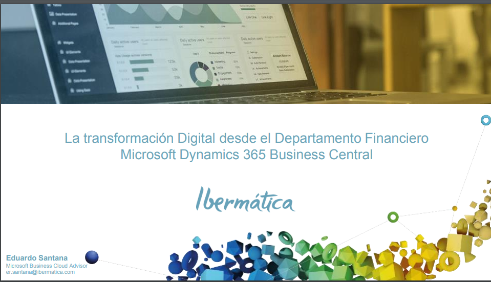 La transformación digital desde el departamento financiero-Microsoft Dynamics 365 Business Central-Finance and Operations