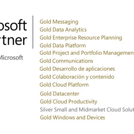 ¡Seguimos creciendo! Nuevas Competencias Microsoft Gold