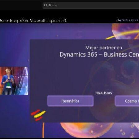 Ibermatica finalista en 2 premios en Microsoft Inspire 2021