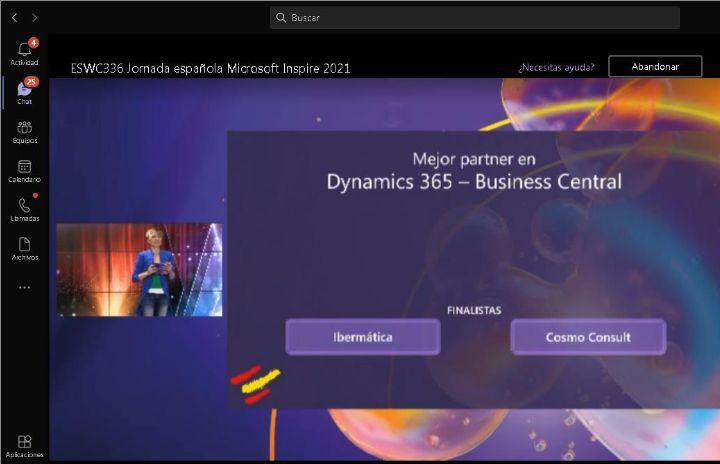 Imagen de la noticia Ibermatica finalista en 2 premios en Microsoft Inspire ...